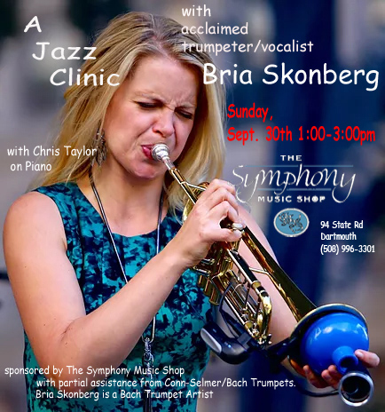 Bria Skonberg at Symphony Music Shop