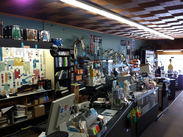 Best selection of quality musical instruments at The Symphony Music Shop, North Dartmouth, MA